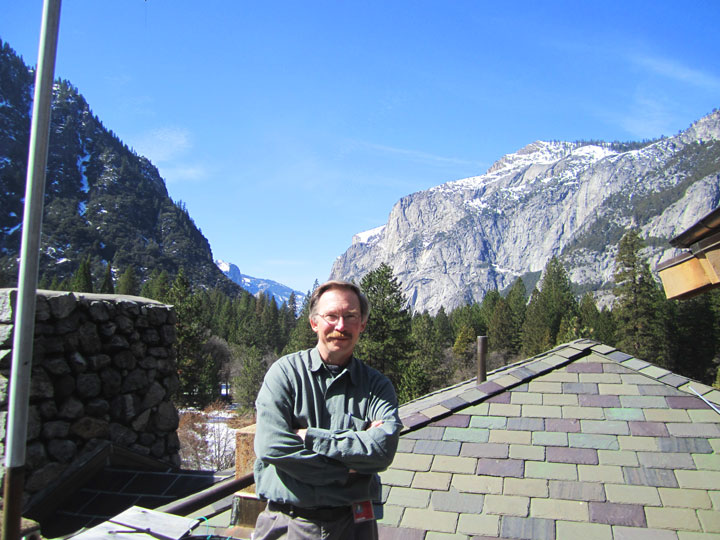Nick Artim in Yosemite National Park